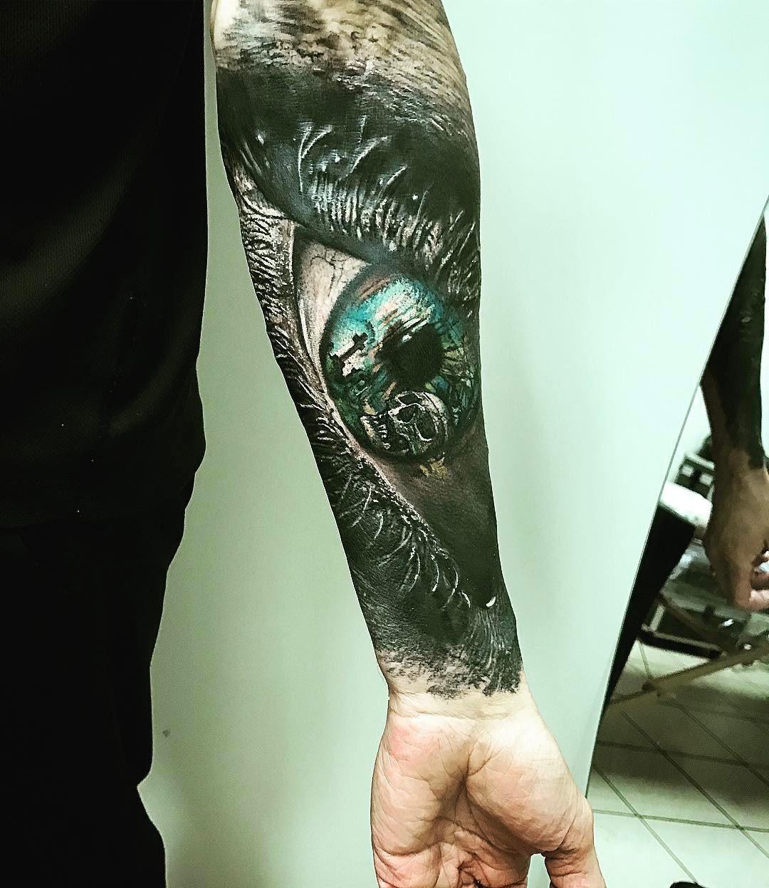 Death Eye Tattoo