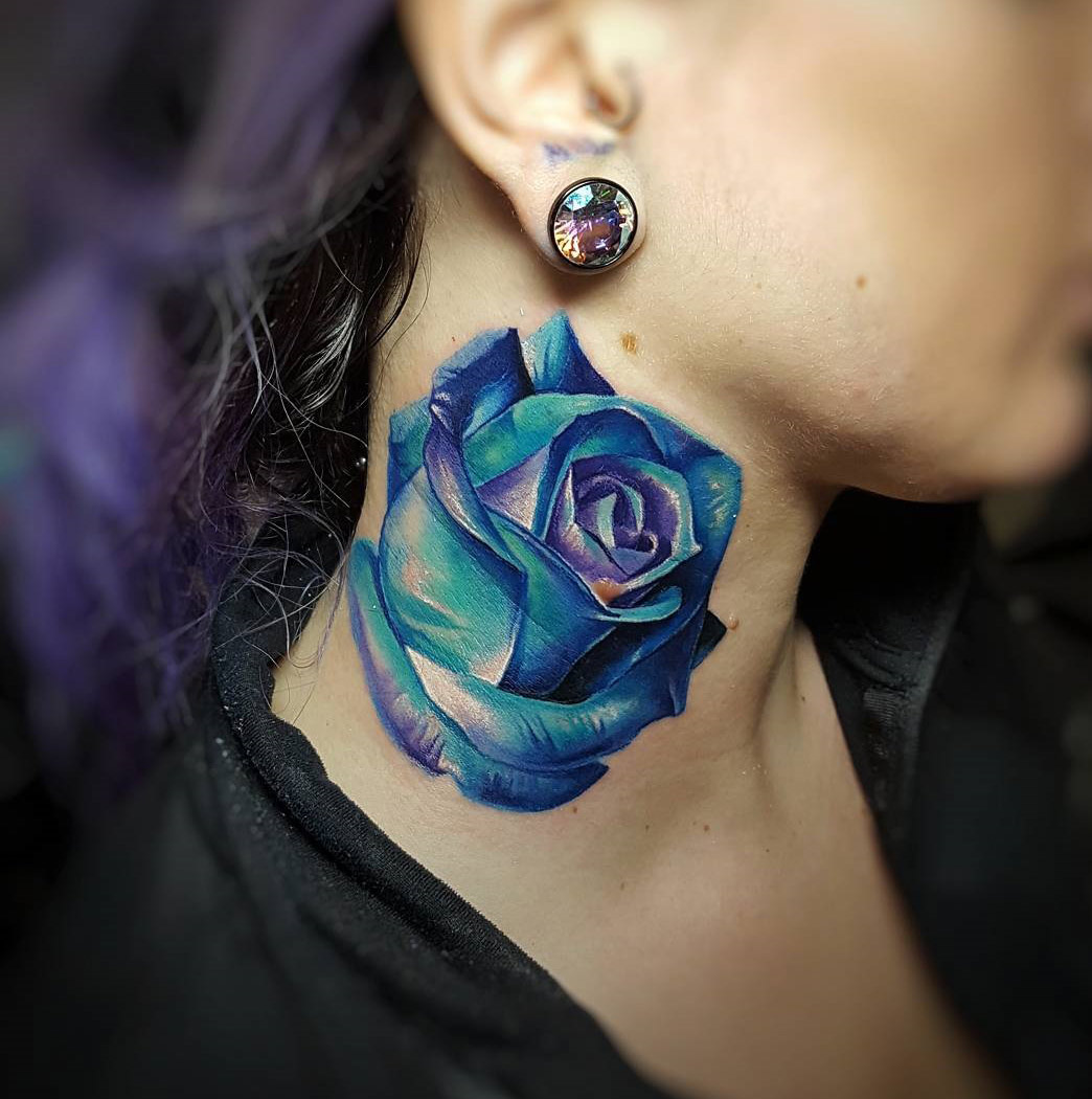 Girls Neck Rose