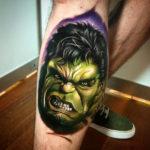 The Hulk Portrait