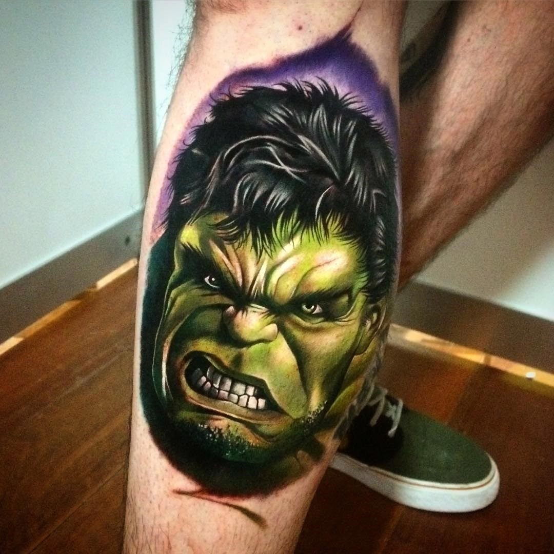 The Hulk Portrait