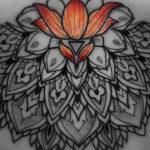 Mandala & Lotus Flower Underboob