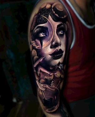 Magician Tattoo