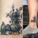 Minimalistic Fantasy Tattoo
