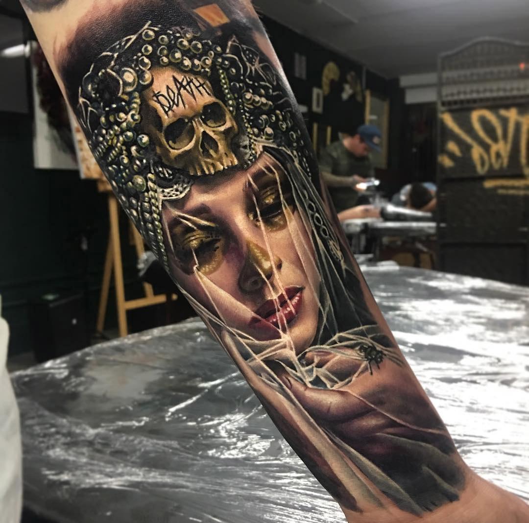 Sleeve tattoos best tattoo ideas designs for 1 4 sleeve tattoo