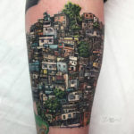 Rio De Janeiro Favela Tattoo