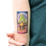 The Wizard of Oz Tattoo