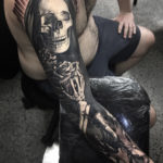 Skeleton Death Sleeve