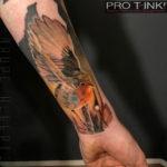 Robin Tattoo, Realistic