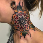 Color Neck Mandala