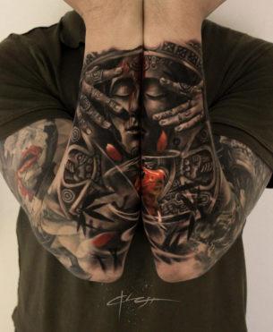 Aztec Double Sleeve