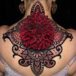 Dahlia & Mandala Tattoo