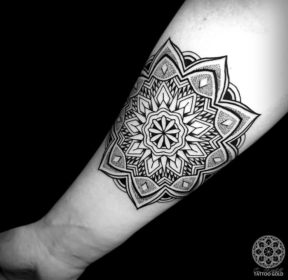 Forearm Mandala