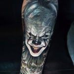 IT tattoo with Pennywise