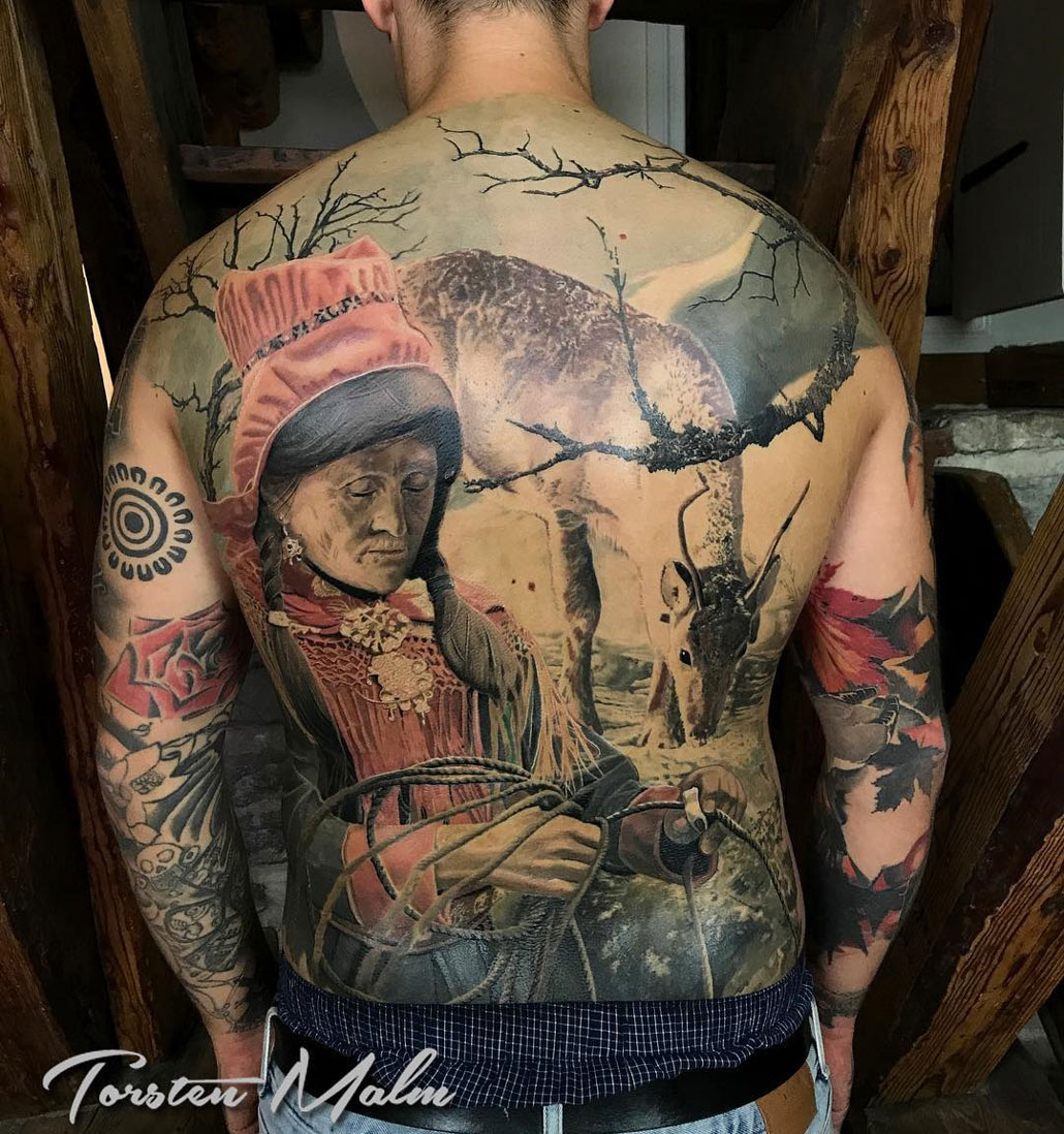 Sami People Best Tattoo Design Ideas