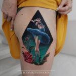Ballerina Svetlana Zakharova Tattoo