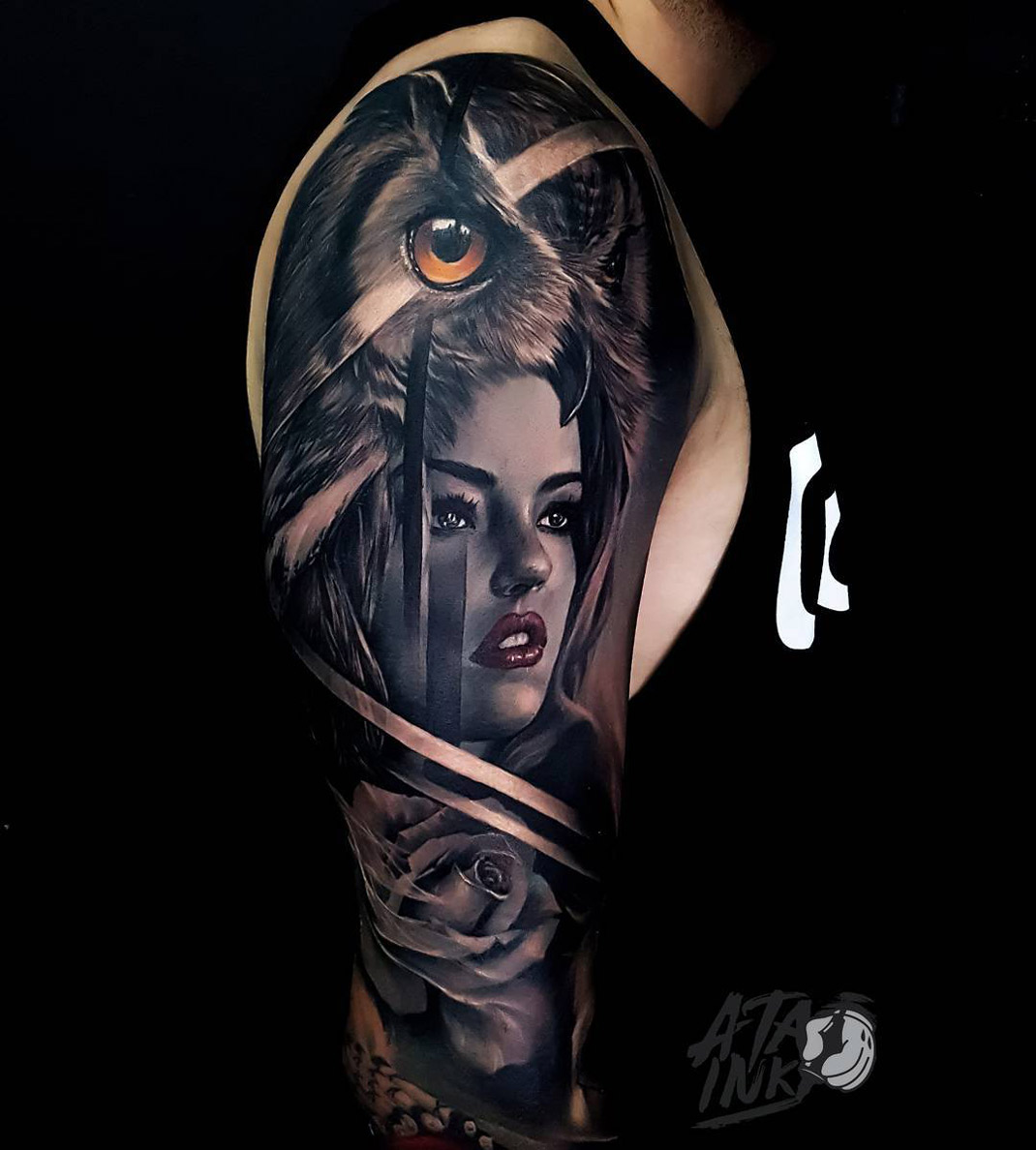 Portrait Sleeve Tattoo Designs  Images For Tatouage