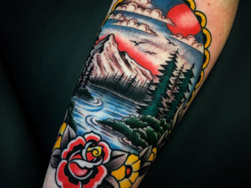 Traditional Nature Tattoo