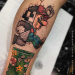 Mario Bros. Tattoo