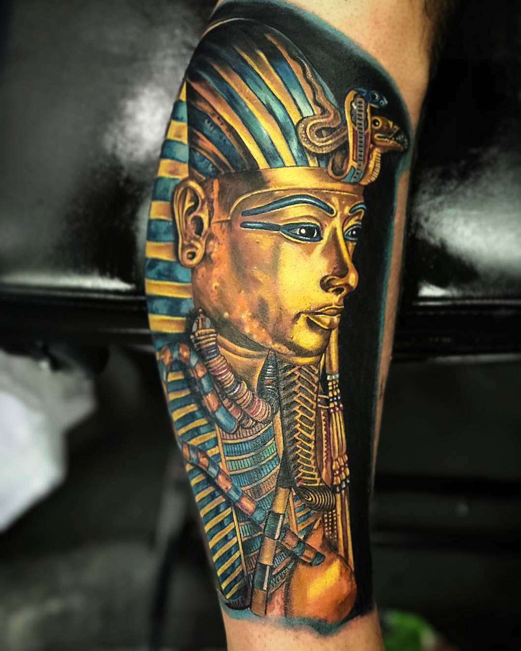Tutankhamun\'s Death Mask | Best tattoo design ideas