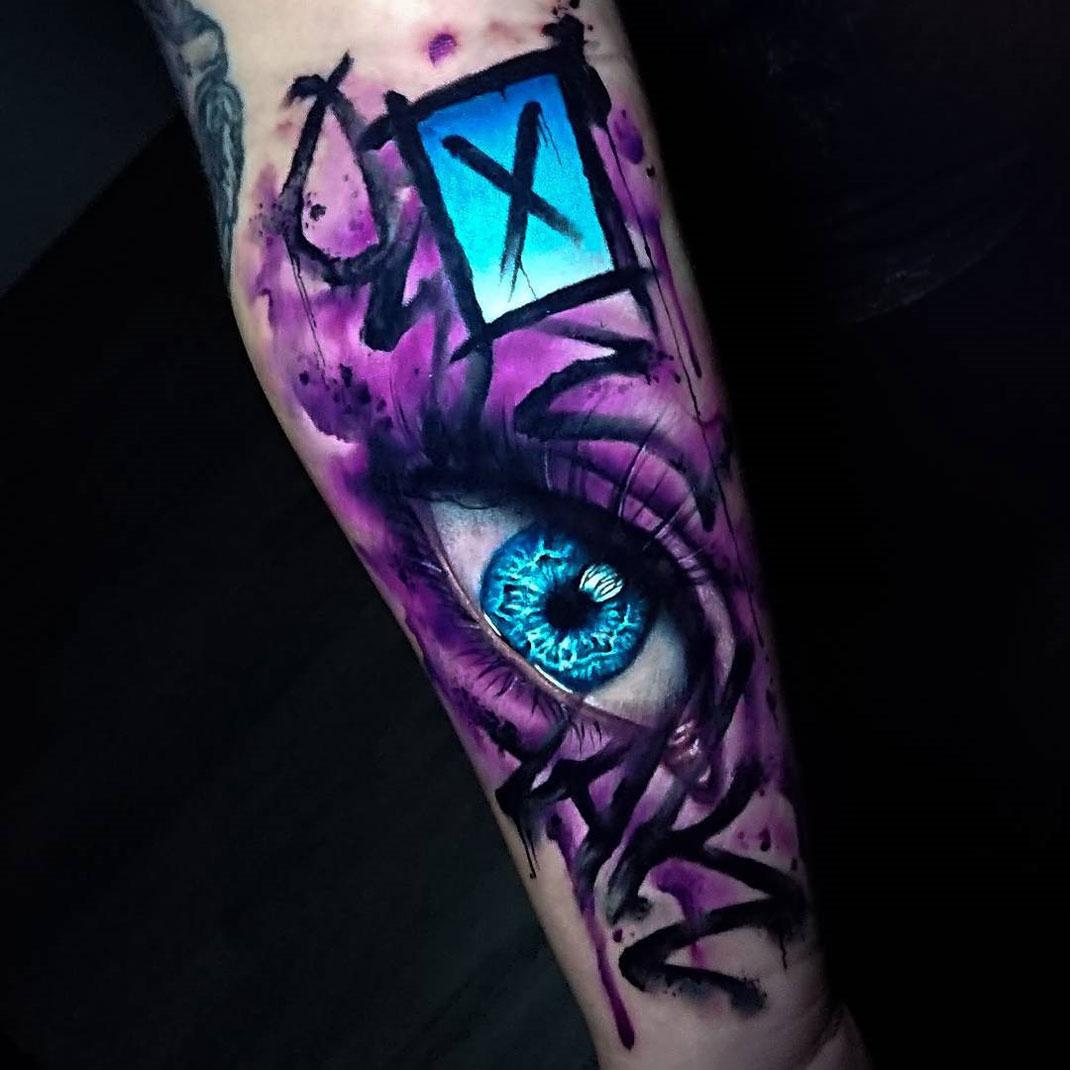 Tribal Graffiti Tattoo Designs