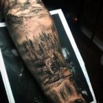 Bear Family Tattoo