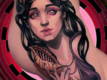 Circe Nymph Tattoo