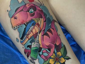 Raptor nurse tattoo