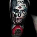 Evil Mummy tattoo