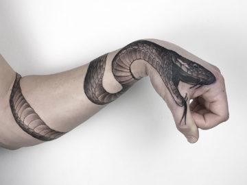 Hand snake
