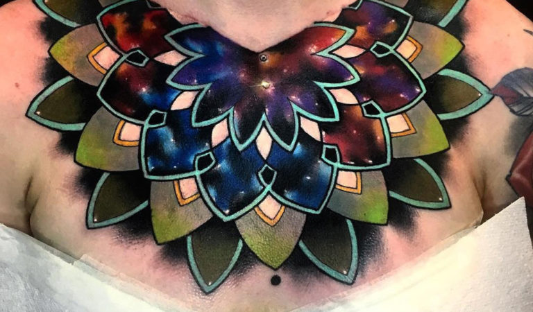 Space Mandala Chest Piece