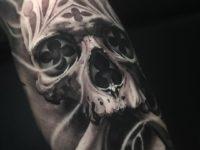 Architectural Skull & Crossbones