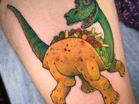 Arlo Tacosauras Tattoo