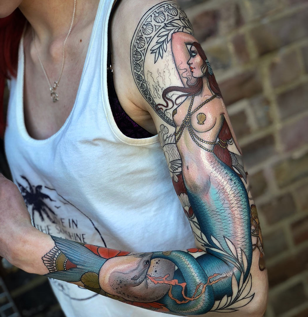 Mermaid Sleeve