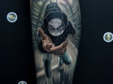Crystal Ball, Magic Tattoo