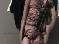 Mayan Warrior Portrait