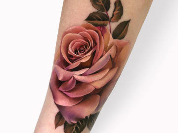 Rose in Muted Tones