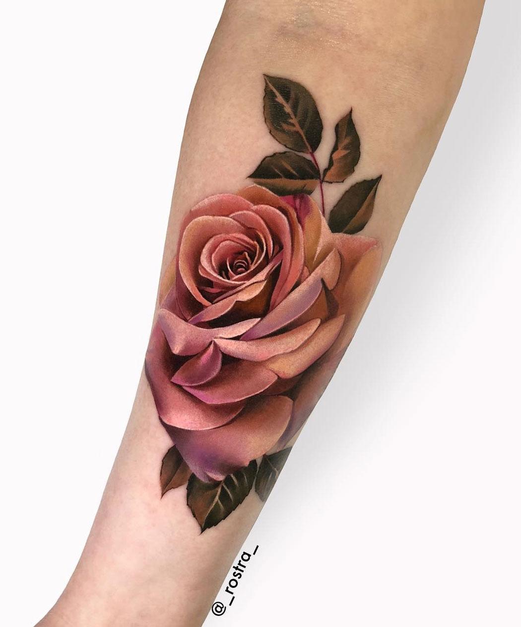 Rose in Muted Tones