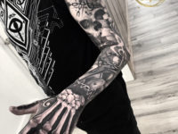 Bones & Music, Men's full sleeve