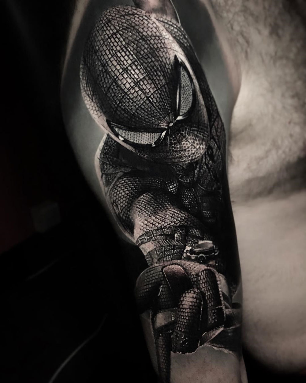 Spider-Man sleeve