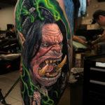 World of Warcraft Orc Tattoo