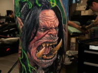 World of Warcraft Orc Tattoo