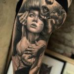 Vampire b&g leg sleeve