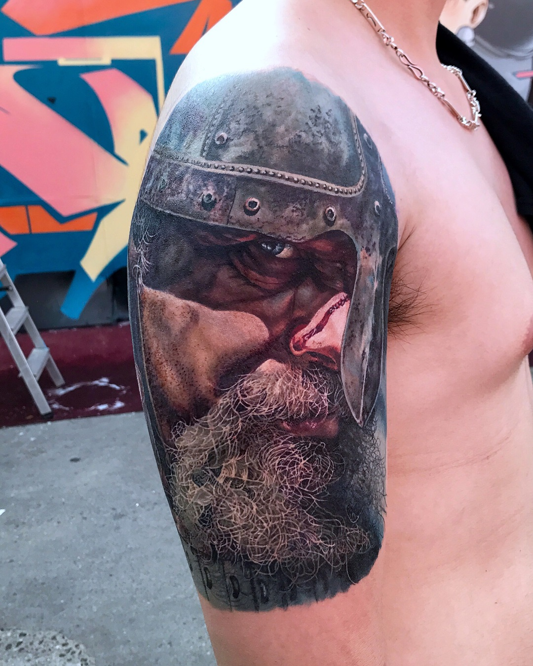 Viking Portrait