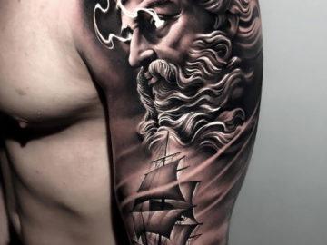 Neptune & Sailing Ship