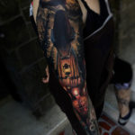 Dark Witch, woman's sleeve