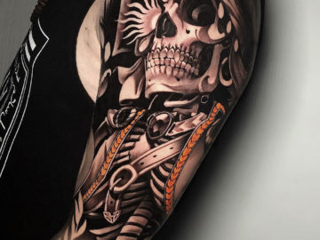 Skeleton Sleeve