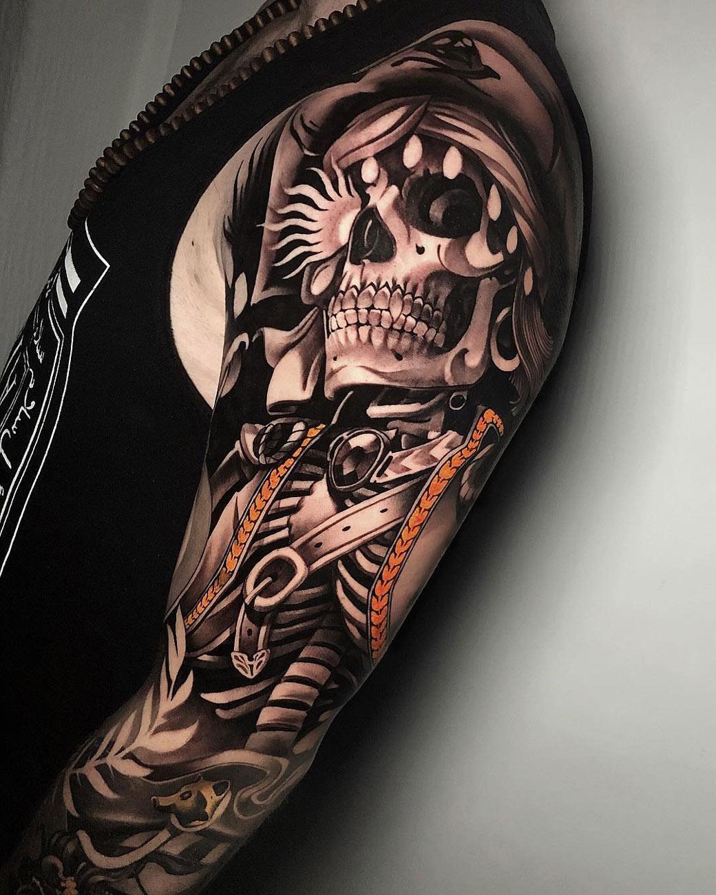 Skeleton Sleeve