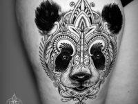 Mosaic Flow Panda