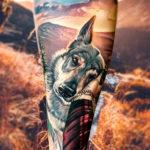 Love my dog tattoo