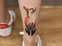 Fox ankle piece